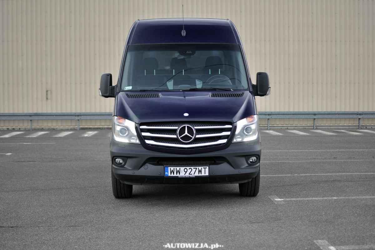 Mercedes sprinter furgon 316 cdi l2h2 auto test for Garage mercedes loison sous lens