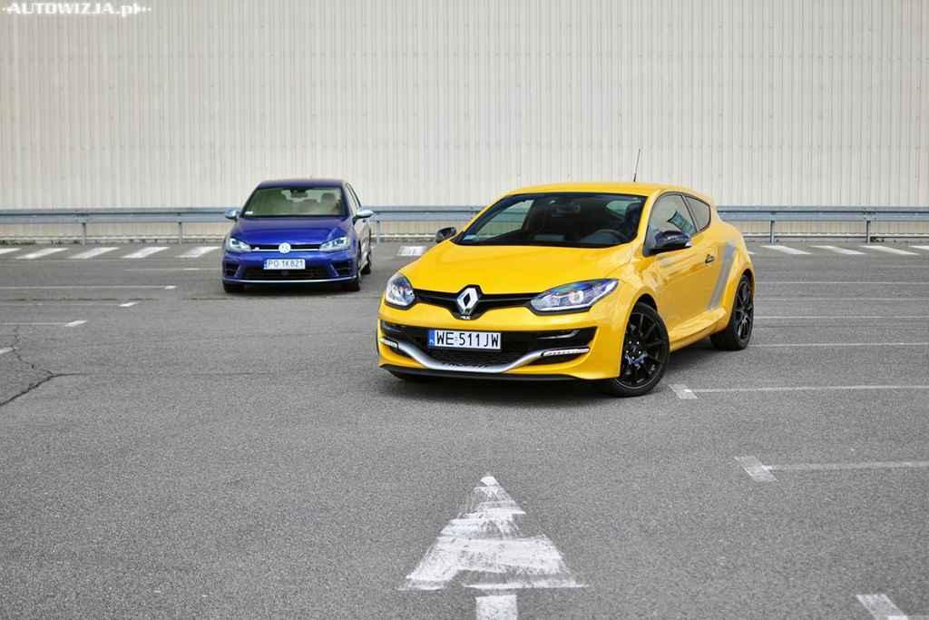 Renault Megane R.S. 275 vs Volkswagen Golf R