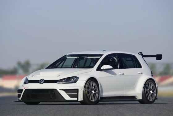 Wyścigowy Volkswagen Golf VII