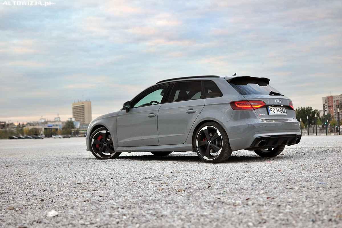 Audi Rs3 Sportback Pierwsza Jazda Autowizja Pl