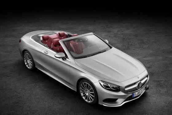 Mercedes Klasy S Cabriolet (2015)