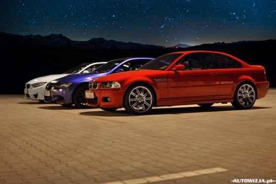 BMW M3 e46 vs BMW M3 e92 vs BMW M4 f82