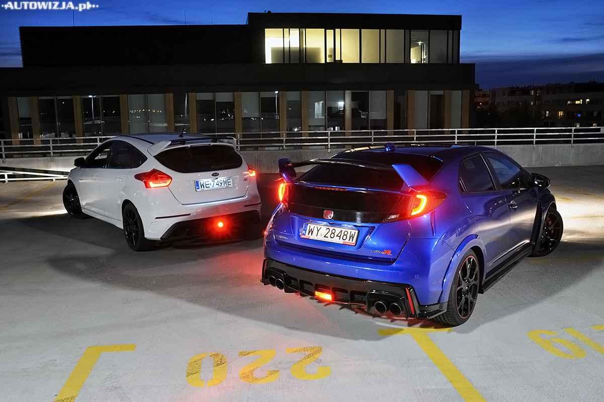 Ford focus rs vs honda civic type r por wnanie for Ford fusion vs honda civic
