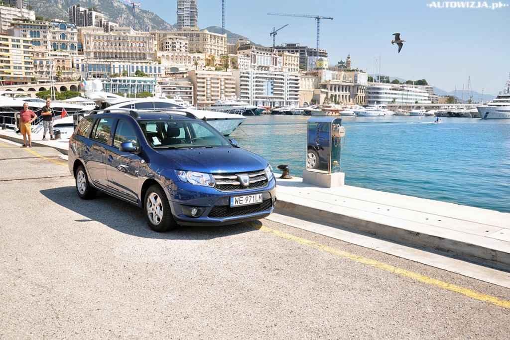 Dacia Logan MCV wzbudzała zainteresowanie w Monako