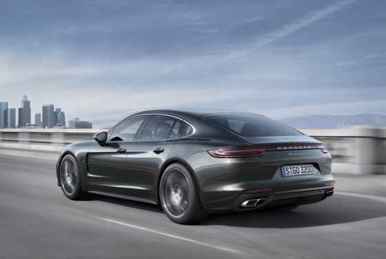 Nowe Porsche Panamera Turbo (2016)