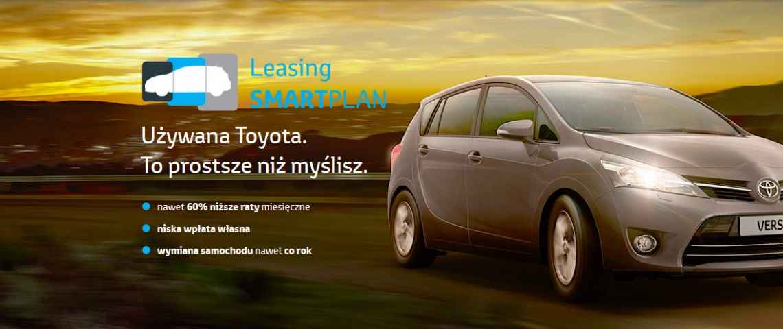 Toyota leasing SmartPlan