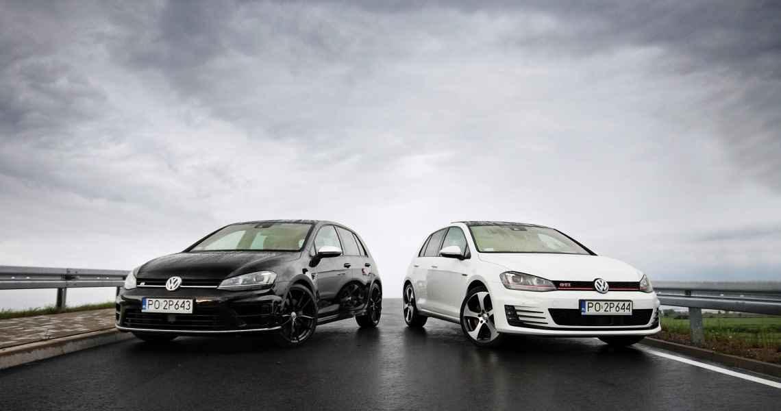 Porównanie Volkswagena Golfa GTI i Golfa R