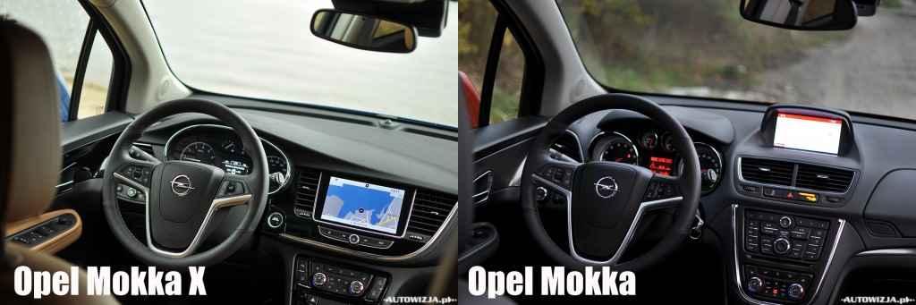 Opel Mokka X vs Opel Mokka