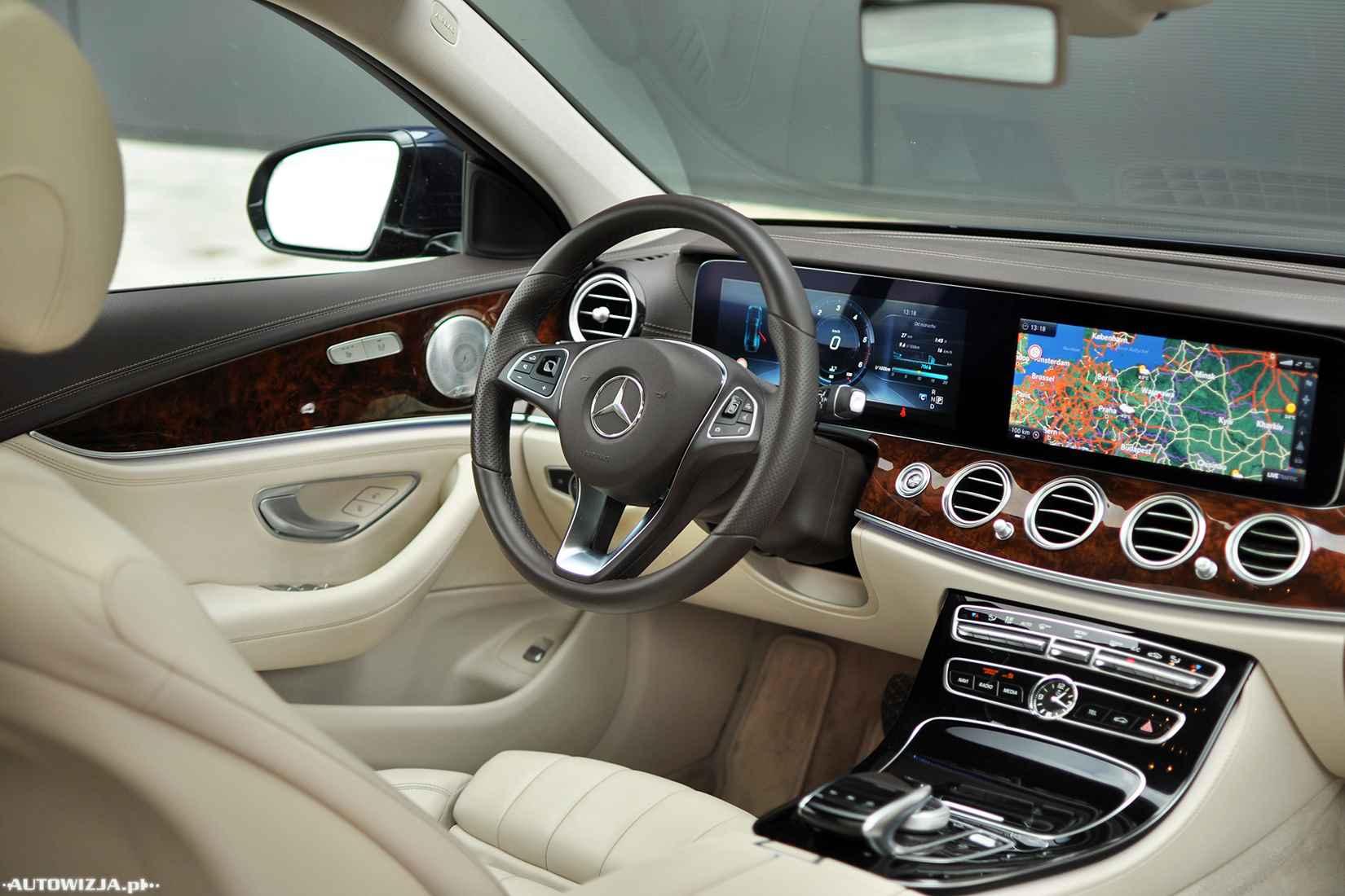 Mercedes e220d W213 - TEST - AUTOWIZJA pl - Motoryzacja