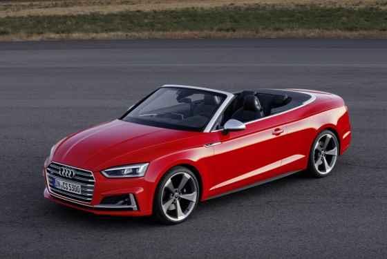 Nowe Audi S5 Cabriolet (2016)
