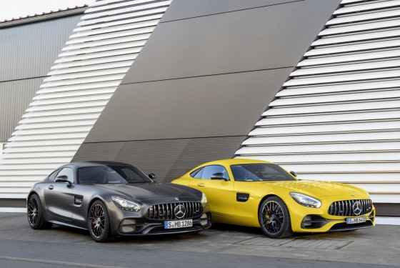Mercedes-AMG GT S FL i GT C Edition 50 (2017)