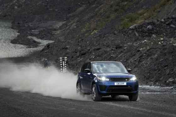 Przyspieszenie Range Rovera Sport SVR