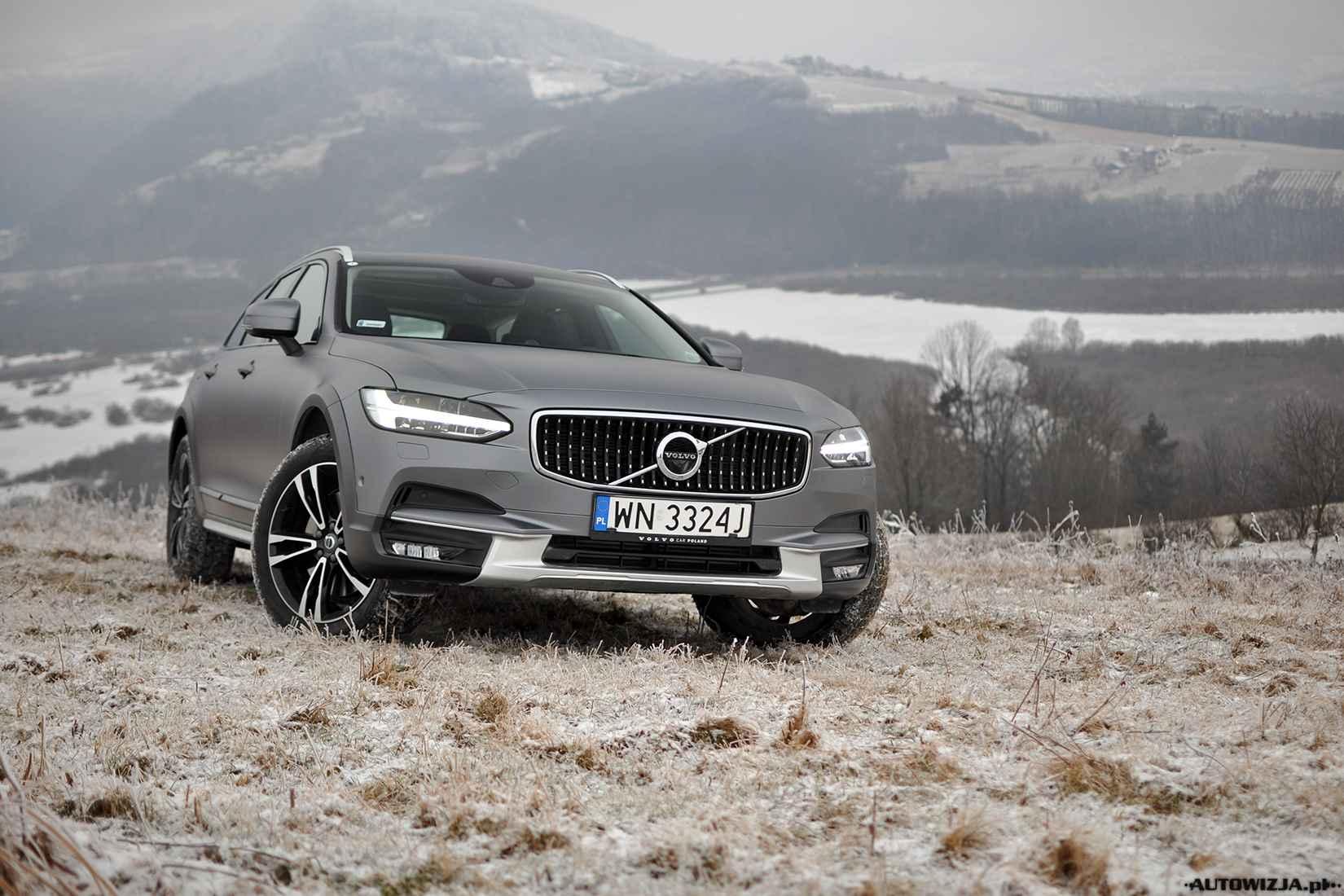 Volvo V90 Cross Country Test Pierwsza Jazda Autowizja Pl