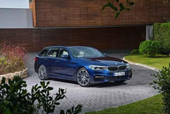 Nowe BMW serii 5 Touring (2017)