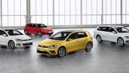 Gama Volkswagena Golfa FL (2017)