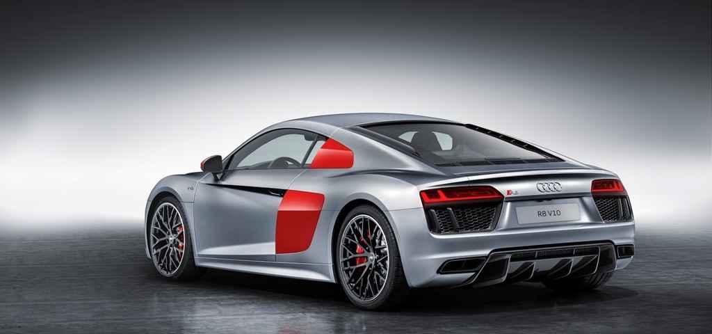 Audi R8 Coupe w barwach Audi Sport