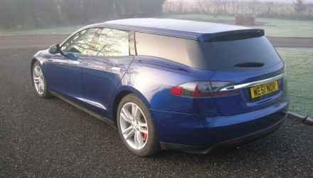 Tesla Model S w wydaniu Shooting Brake
