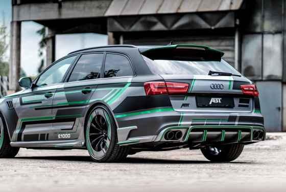 Audi RS6-E Concept