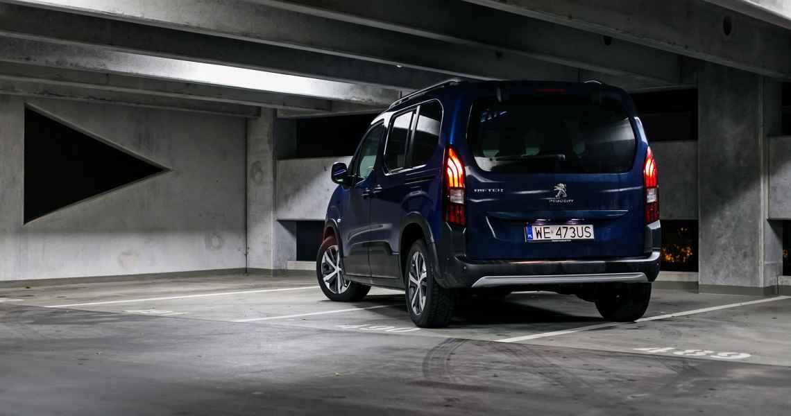 Peugeot Rifter Allure 1.5 BlueHDi 130 KM