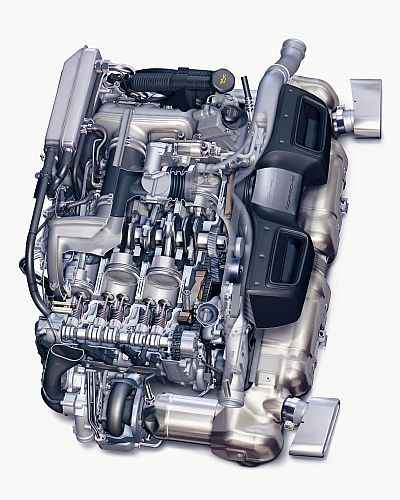 Porsche Wygrywa Quot Best Performance Engine Award Quot Autowizja Pl