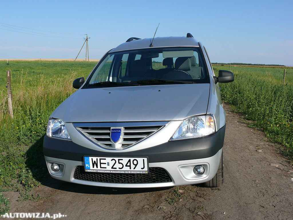 dacia logan mcv 1 6 mpi auto test motoryzacja. Black Bedroom Furniture Sets. Home Design Ideas