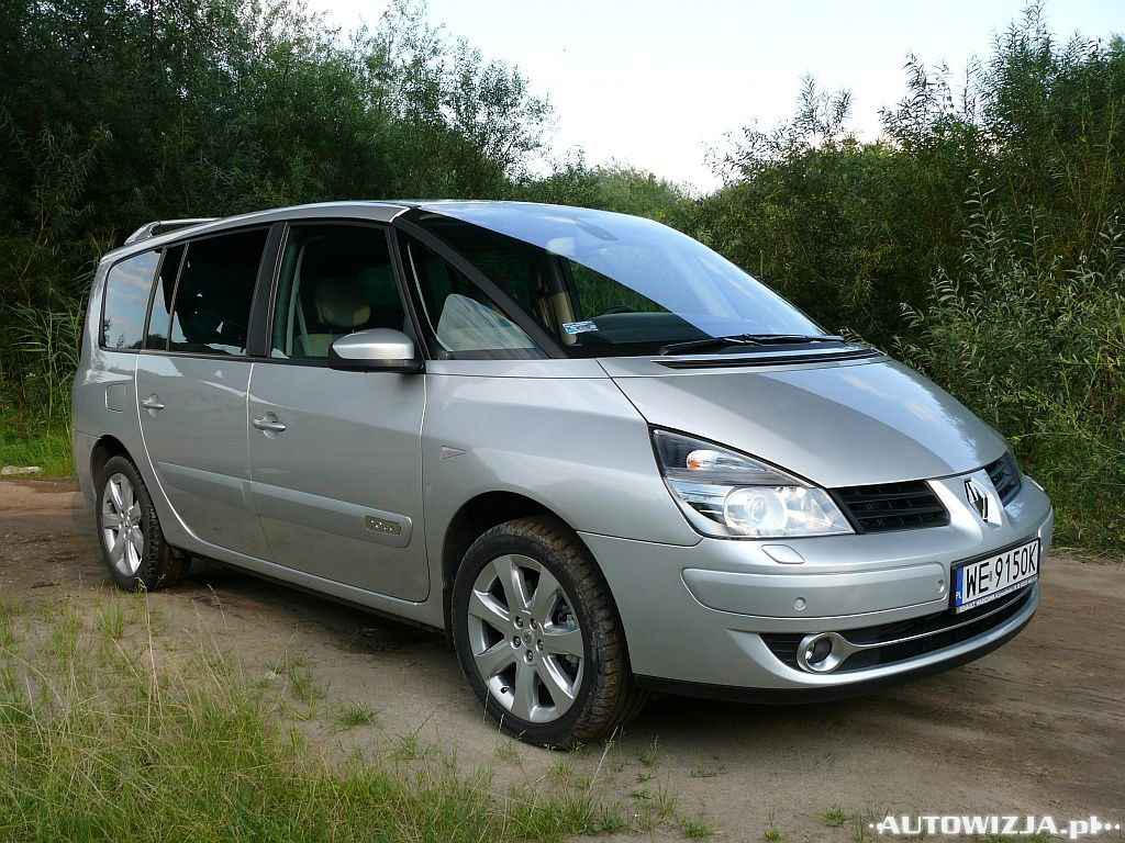 renault espace 2 0 dci automat auto test. Black Bedroom Furniture Sets. Home Design Ideas