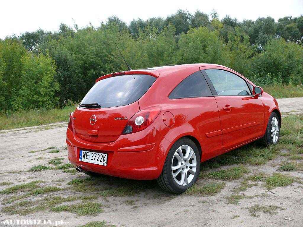 opel corsa d 1 4 sport auto test motoryzacja. Black Bedroom Furniture Sets. Home Design Ideas