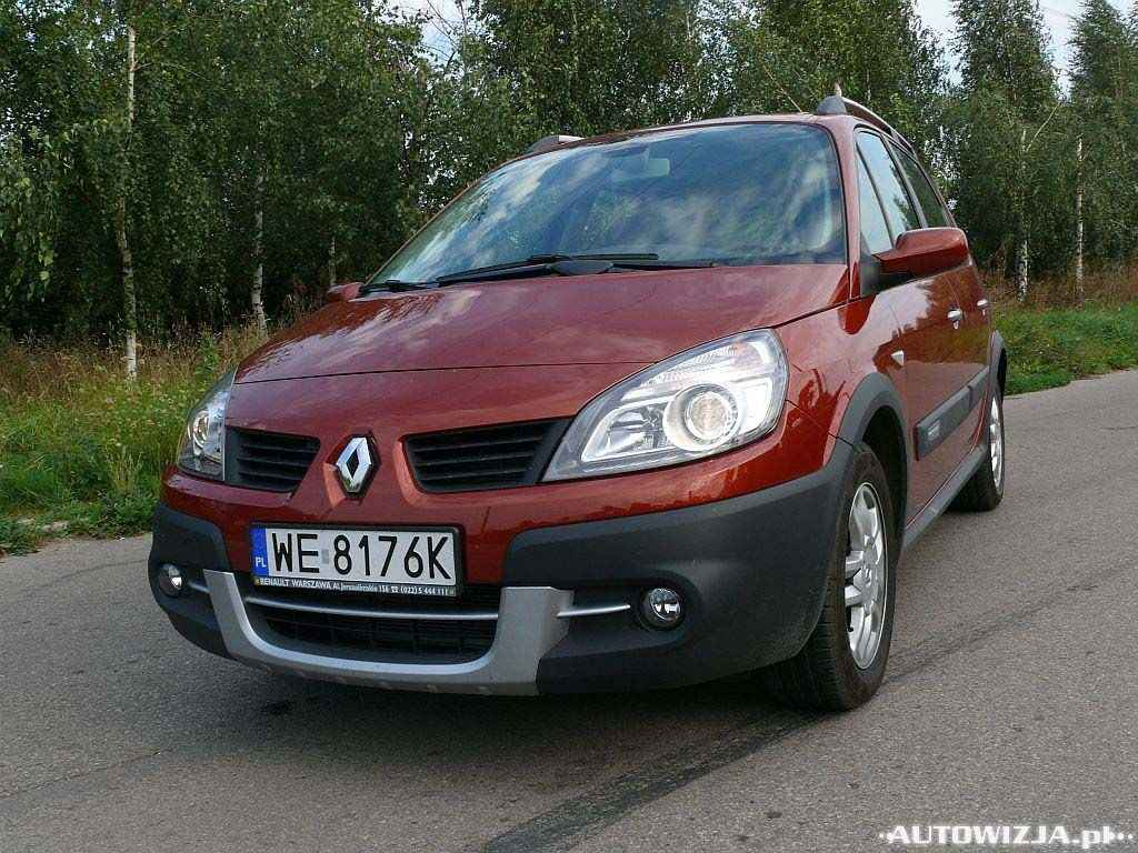 renault scenic conquest 2 0 auto test motoryzacja. Black Bedroom Furniture Sets. Home Design Ideas