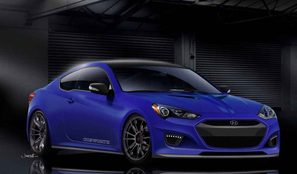 Hyundai Genesis Coupe Cosworth