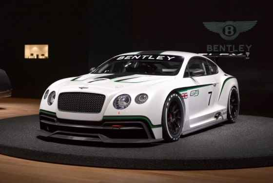 Bentley Continental GT3 - dalsze informacje