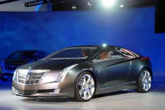 Cadillac Converj - zapowiedź modelu ELR