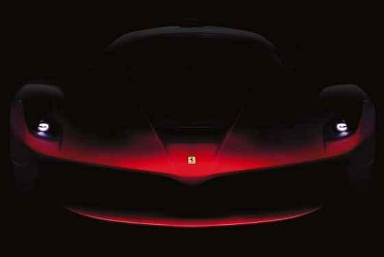 Ferrari F70 - teaser