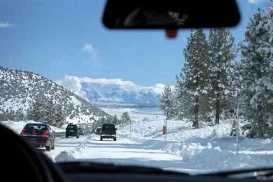 Jazda samochodem w zimę