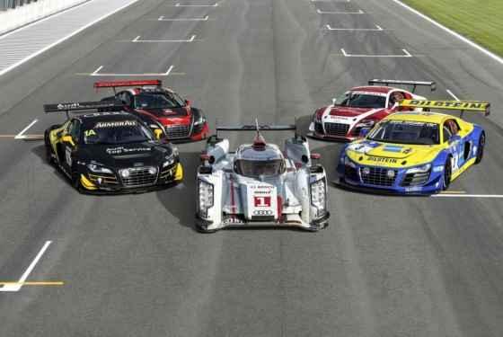 Wyścigowe plany Audi na przyszły rok