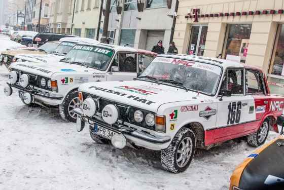 Fiat 125p - NAC Rally Team