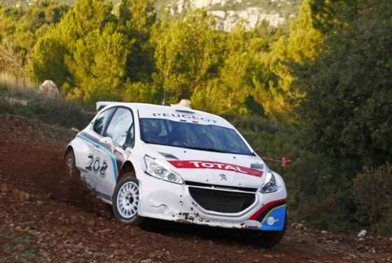 Peugeot 208 Type R5 - testy
