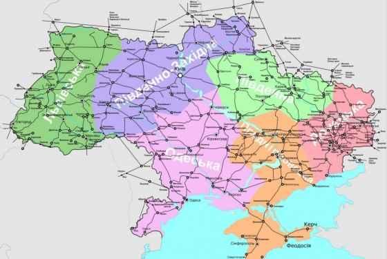Mapka Ukrainy