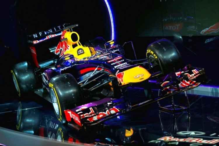 Bolid F1 zespołu Red Bull Racing