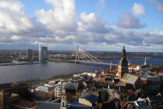Łotwa - krajobraz miejski