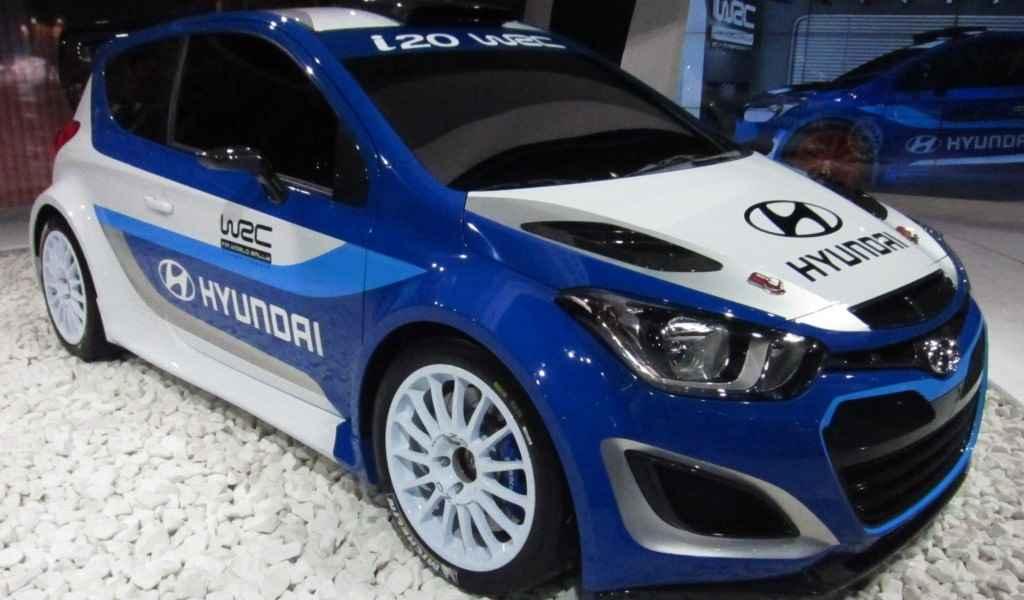 Pierwsze testy Hyundai'a i20 WRC