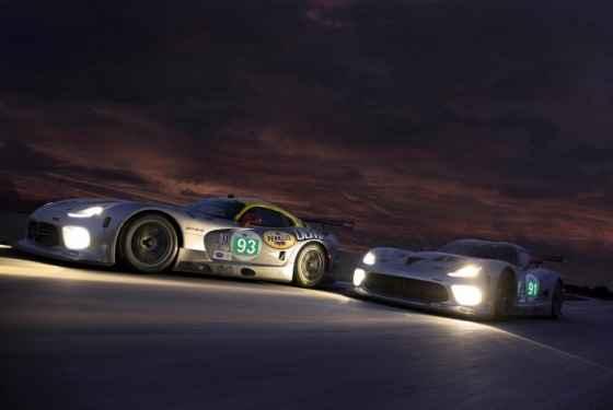 SRT Viper GTS-R na tegorocznym wyścigu na Le Mans