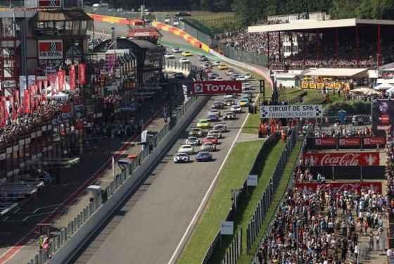 Wyniki 24-godzinnego wyścigu na torze Spa-Francorchamps (2013)