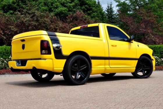 Ram 1500 R/T Rumble Bee Concept (2013)