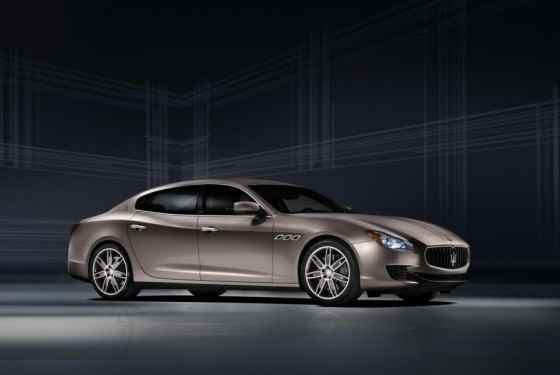 Maserati Quattroporte Ermenegildo Zegna Concept
