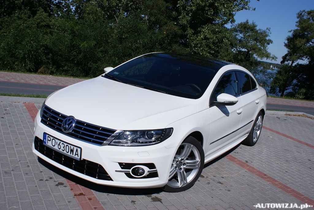 volkswagen cc 2 0 tdi dsg r line auto test motoryzacja. Black Bedroom Furniture Sets. Home Design Ideas
