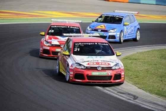 Wyniki 6. rundy pucharu Volkswagen Castrol Cup