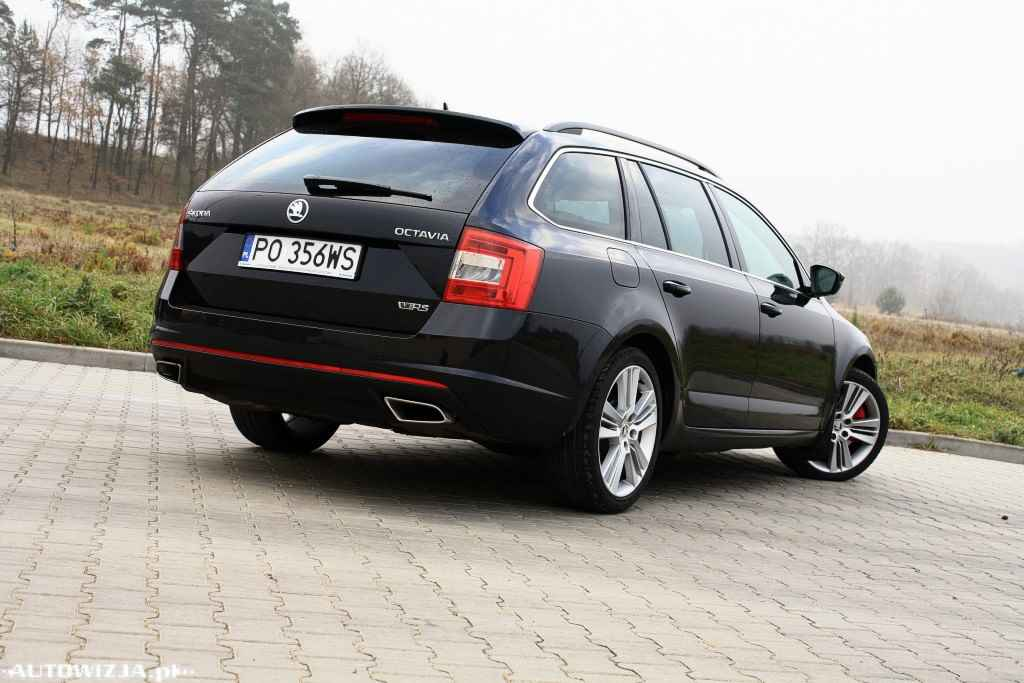 skoda octavia iii combi rs 2 0 tdi 184 km auto test motoryzacja. Black Bedroom Furniture Sets. Home Design Ideas