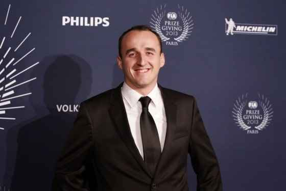Robert Kubica - Osobowość Roku FIA