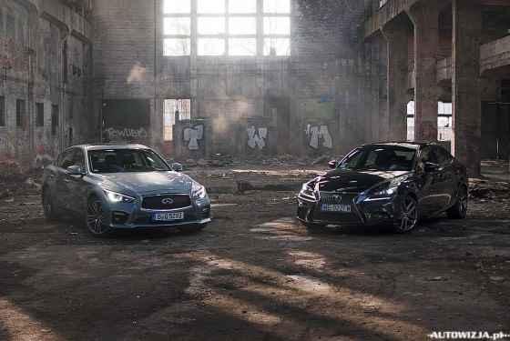 Infiniti Q50S Hybrid vs Lexus IS250 F-Sport