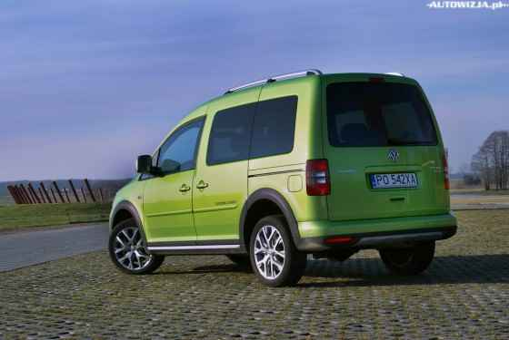 Volkswagen Cross Caddy 2.0 TDI 4x4 Trendline